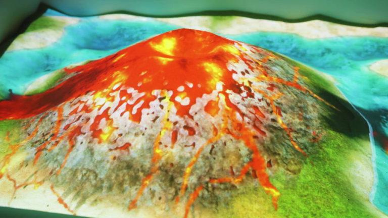 アイサンドボックス iSandBOX ボルケーノ 火山